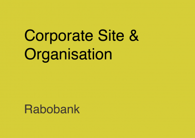 Rabobank Corporate Site